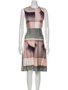 Celine Silk Midi Length Dress