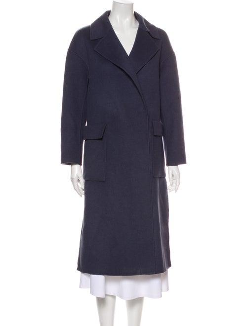 Celine Trench Coat Blue