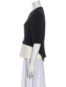 Celine Crew Neck Short Sleeve Top