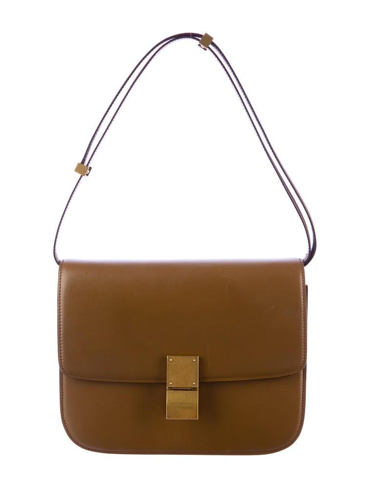 C 233 Line Box Bag Handbags Cel20883 The Realreal