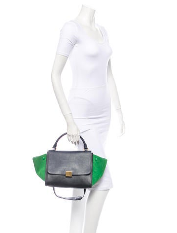 Tricolor Mini Trapeze Bag