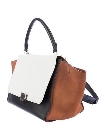 Tricolor Trapeze Bag