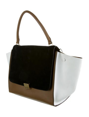 Tri-Color Trapeze Bag