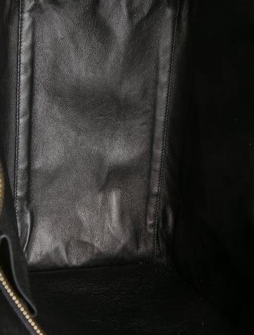 Tricolor Mini Luggage Tote