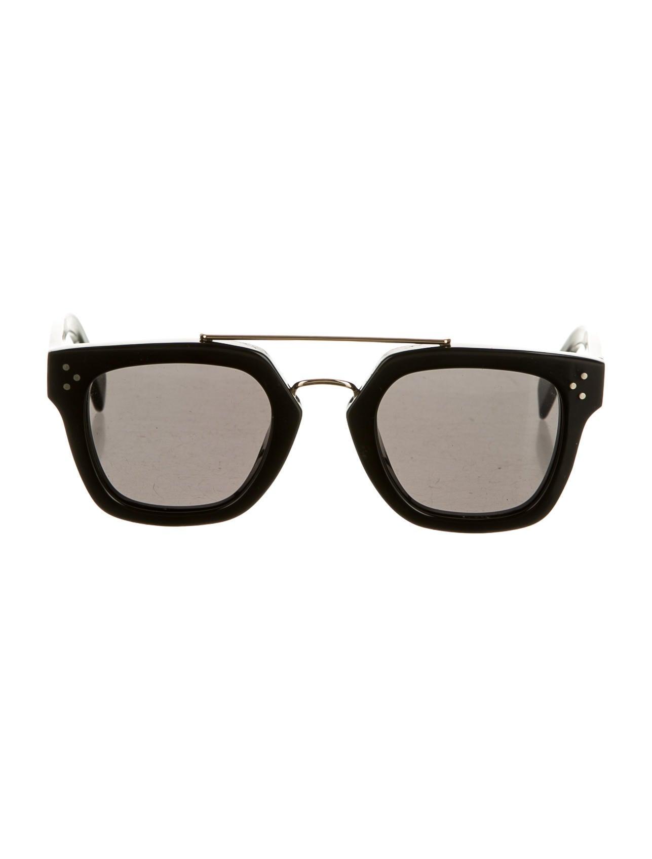 Contemporary Flatware C 233 Line Sunglasses Accessories Cel24965 The Realreal