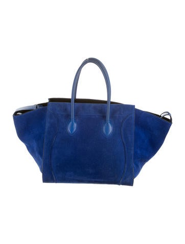 Medium Suede Phantom Tote