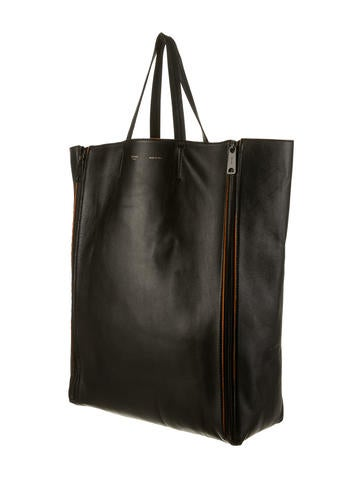 Vertical Gusset Cabas Tote