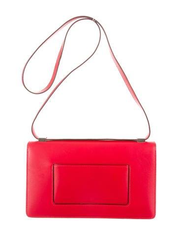 Calfskin and Python Case Bag