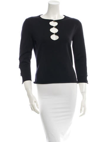 Céline Silk Knit Top w/ Tags None
