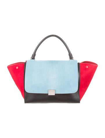 Mini Ponyhair Trapeze Bag