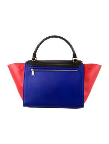 Tricolor Mini Trapeze Bag