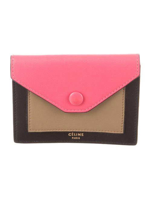 low priced 27497 8461d Celine Céline Tri-Color Card Holder - Accessories - CEL31629   The ...