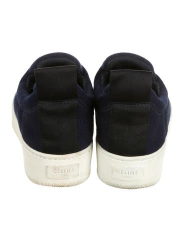 Woven Slip-On Sneakers