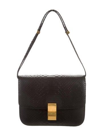 Python Medium Classic Box Bag