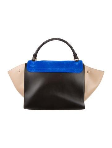 Tricolor Medium Trapeze Bag