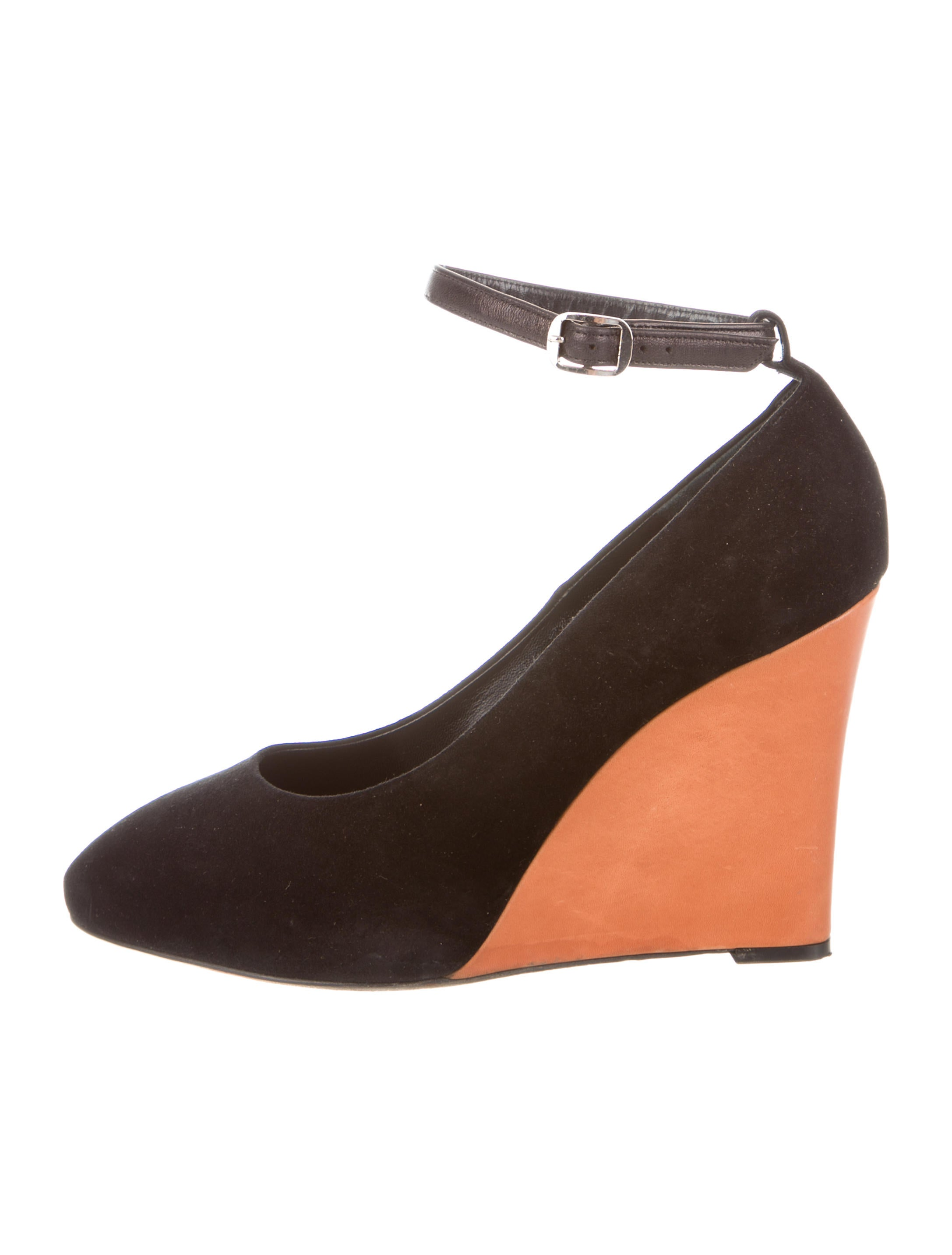 c 233 line suede pointed toe wedges shoes cel33920 the