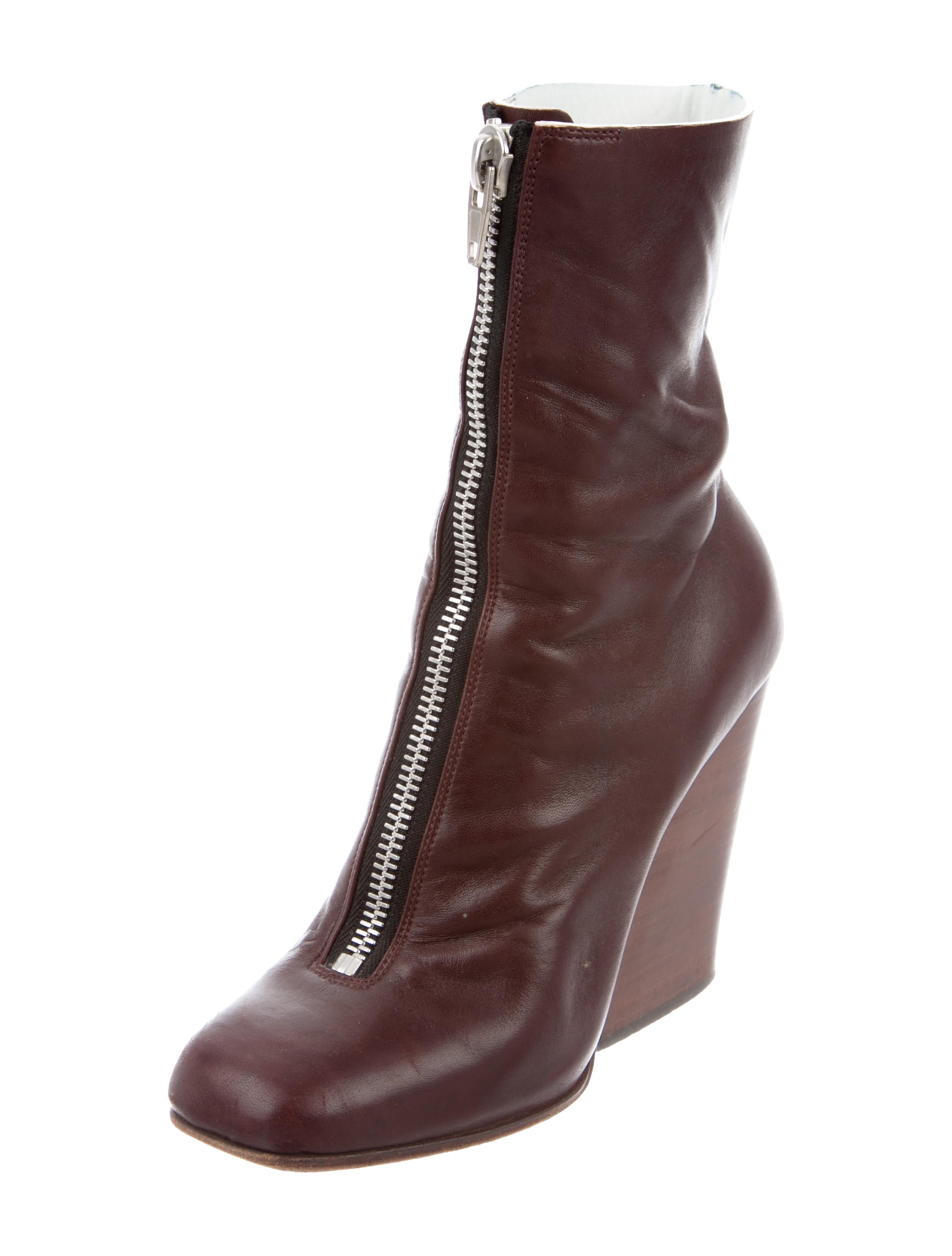 c 233 line leather square toe ankle boots shoes cel33930