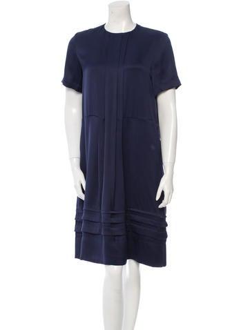 Silk Midi Dress