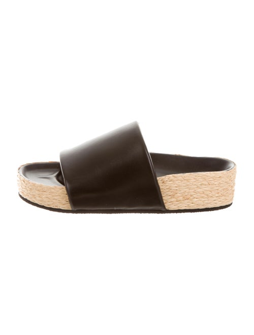 208e13756075fa Celine Céline Padded Band Sandals w/ Tags - Shoes - CEL36113 | The ...