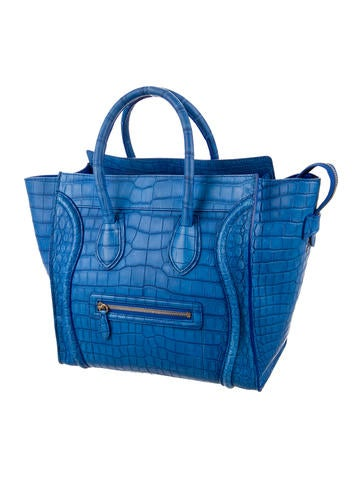 Crocodile Mini Luggage Tote