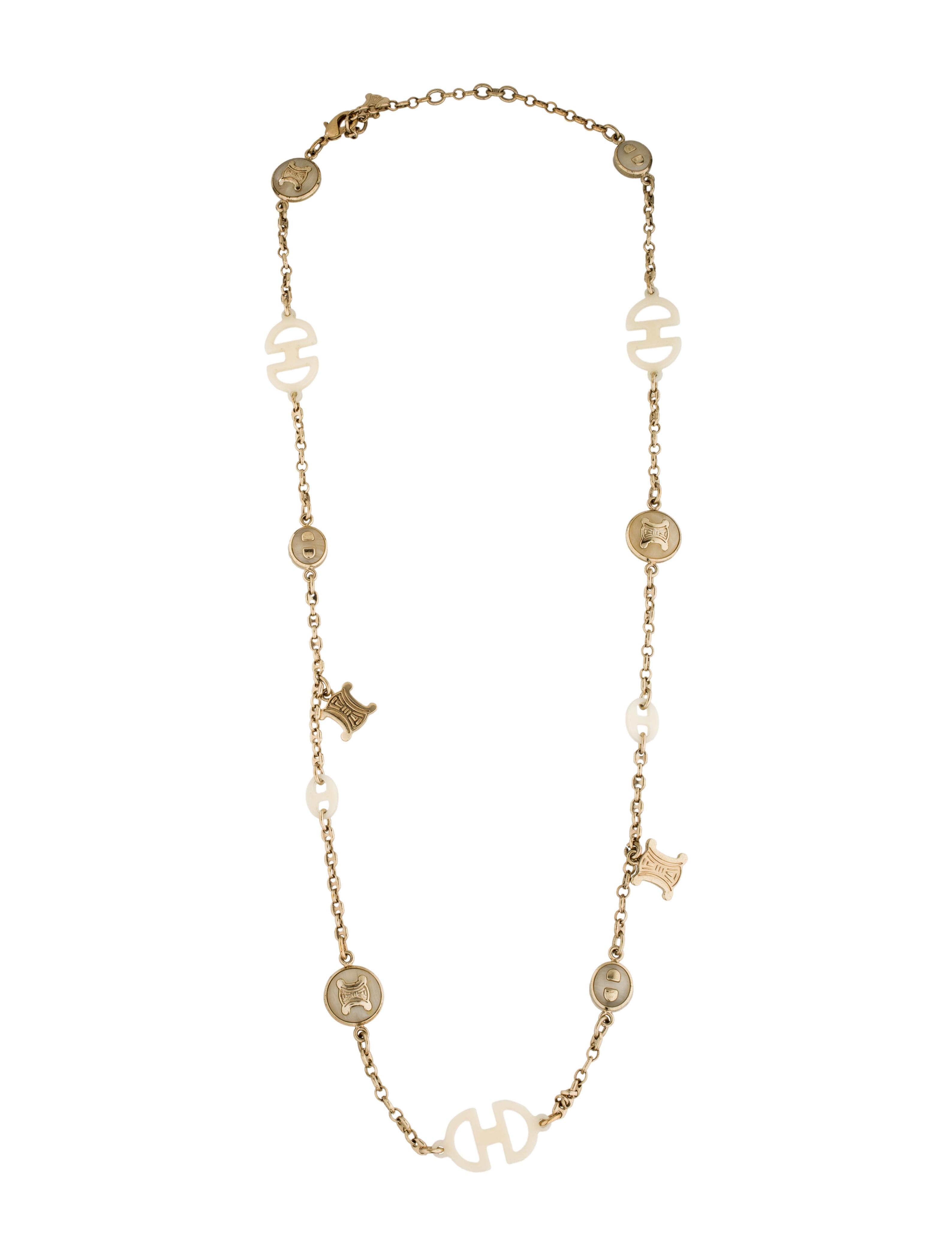 8b55cc403c Celine Necklace M