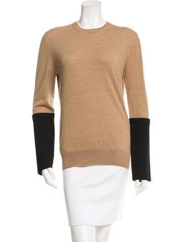 Céline Knit Wool Top None
