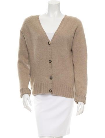 Céline V-Neck Cashmere Sweater None