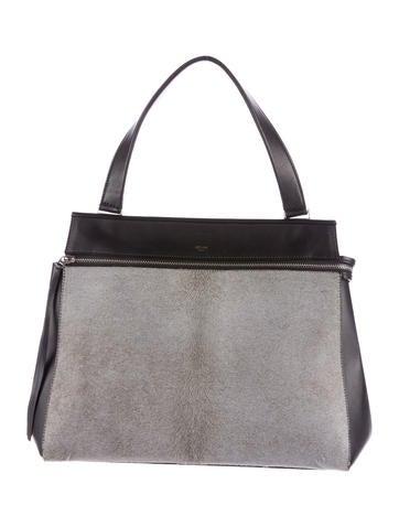 Céline Ponyhair Medium Edge Bag