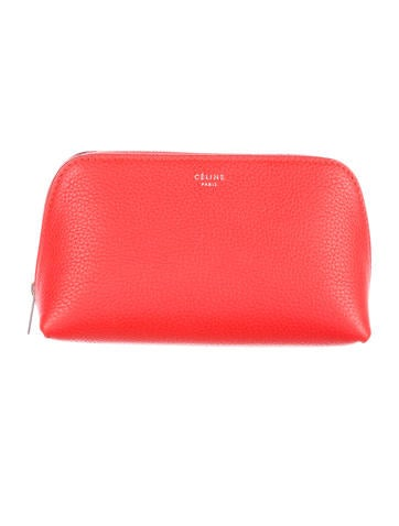 Leather Cosmetic Bag