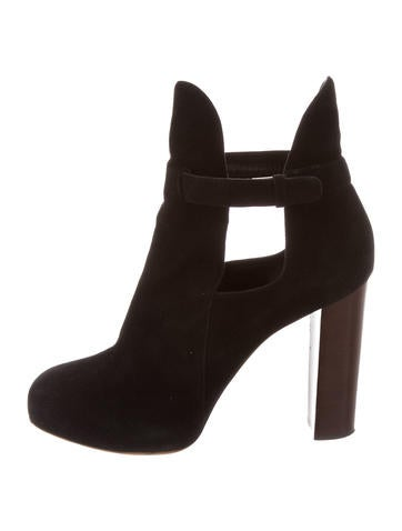 Cutout Ankle Boots