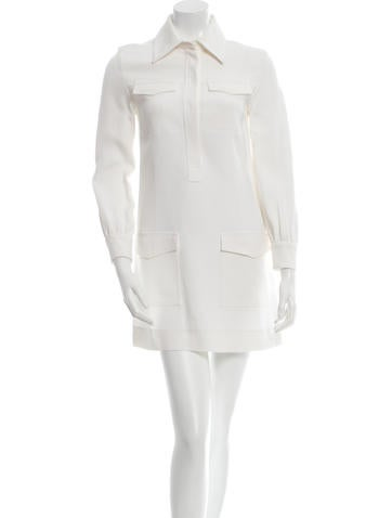Céline Long Sleeve Shift Dress