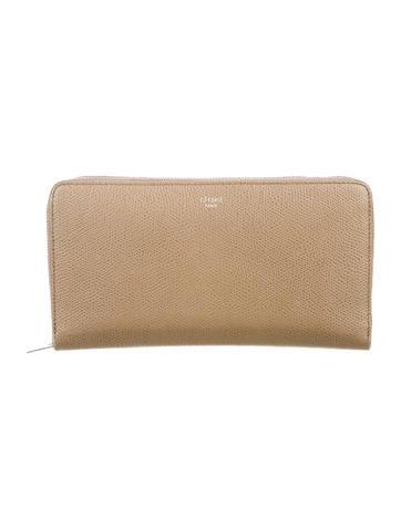 Céline Leather Continental Wallet