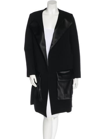 Céline Wool & Angora Coat