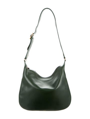 Céline Small Leather Shoulder Bag