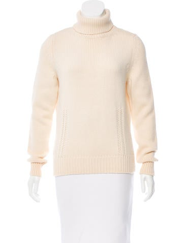 Céline Wool Turtleneck Sweater None