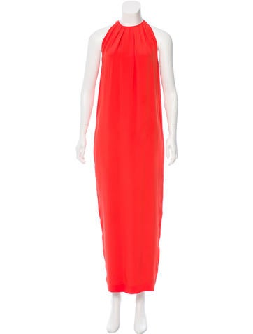Céline Silk Maxi Dress