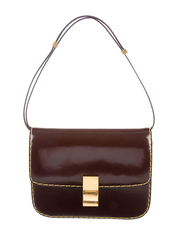 C 233 Line Medium Classic Box Bag Handbags Cel41567 The