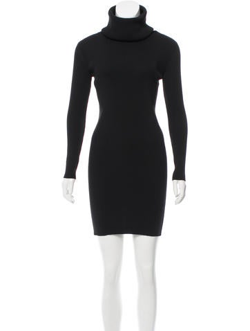 Céline Mini Sweater Dress None