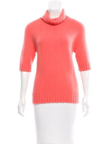 Céline Short Sleeve Cashmere Sweater None