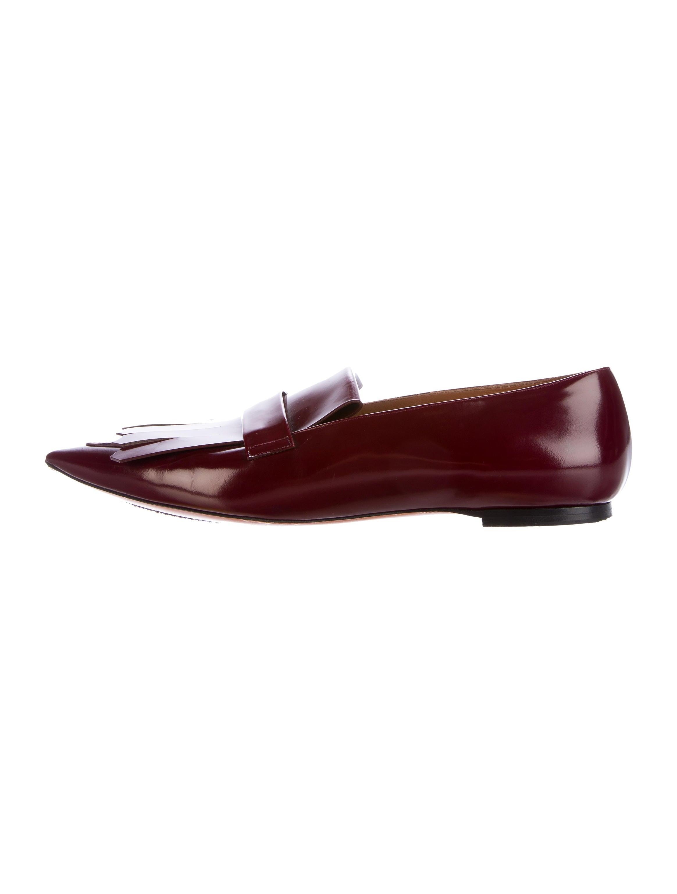 outlet 2014 largest supplier sale online Céline Kiltie Leather Loafers largest supplier cheap sale explore discount finishline 8FmgJ