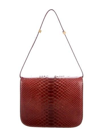 Medium Python Box Bag