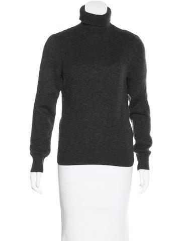 Céline Turtleneck Cashmere Sweater None