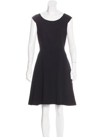 Céline A-Line Wool Dress None