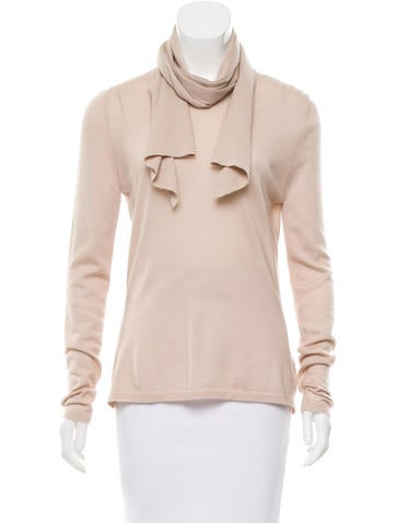 Céline Knit Cashmere Top None
