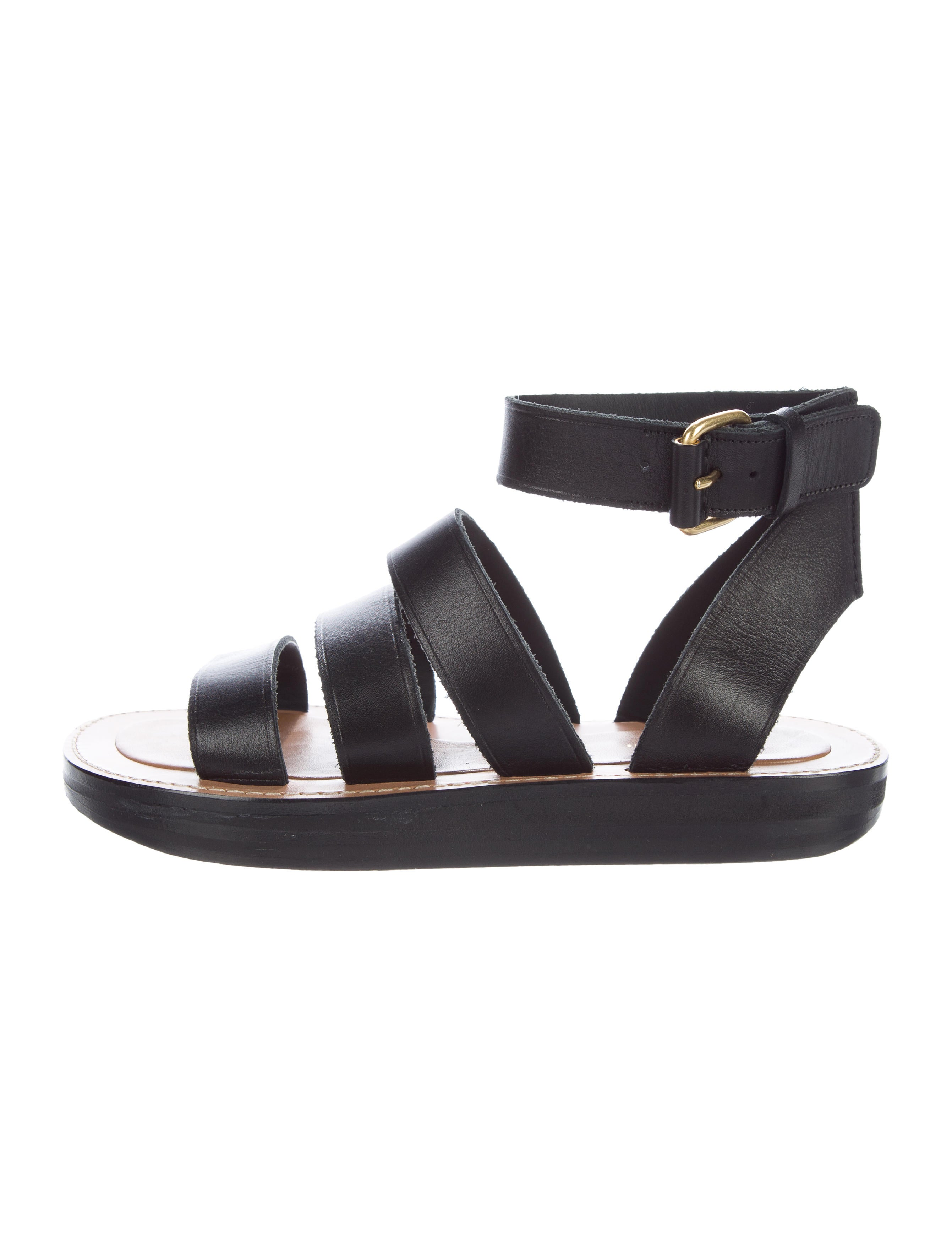 Céline Leather Flip Flops FT1J9t01P