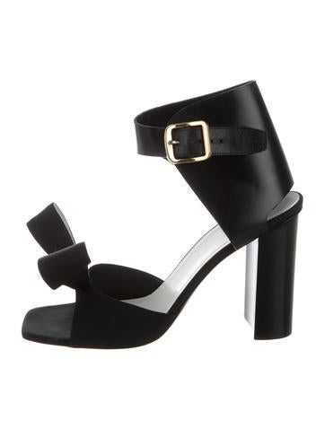 Céline Multistrap Bow Sandals