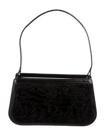 Persian Lamb Shoulder Bag