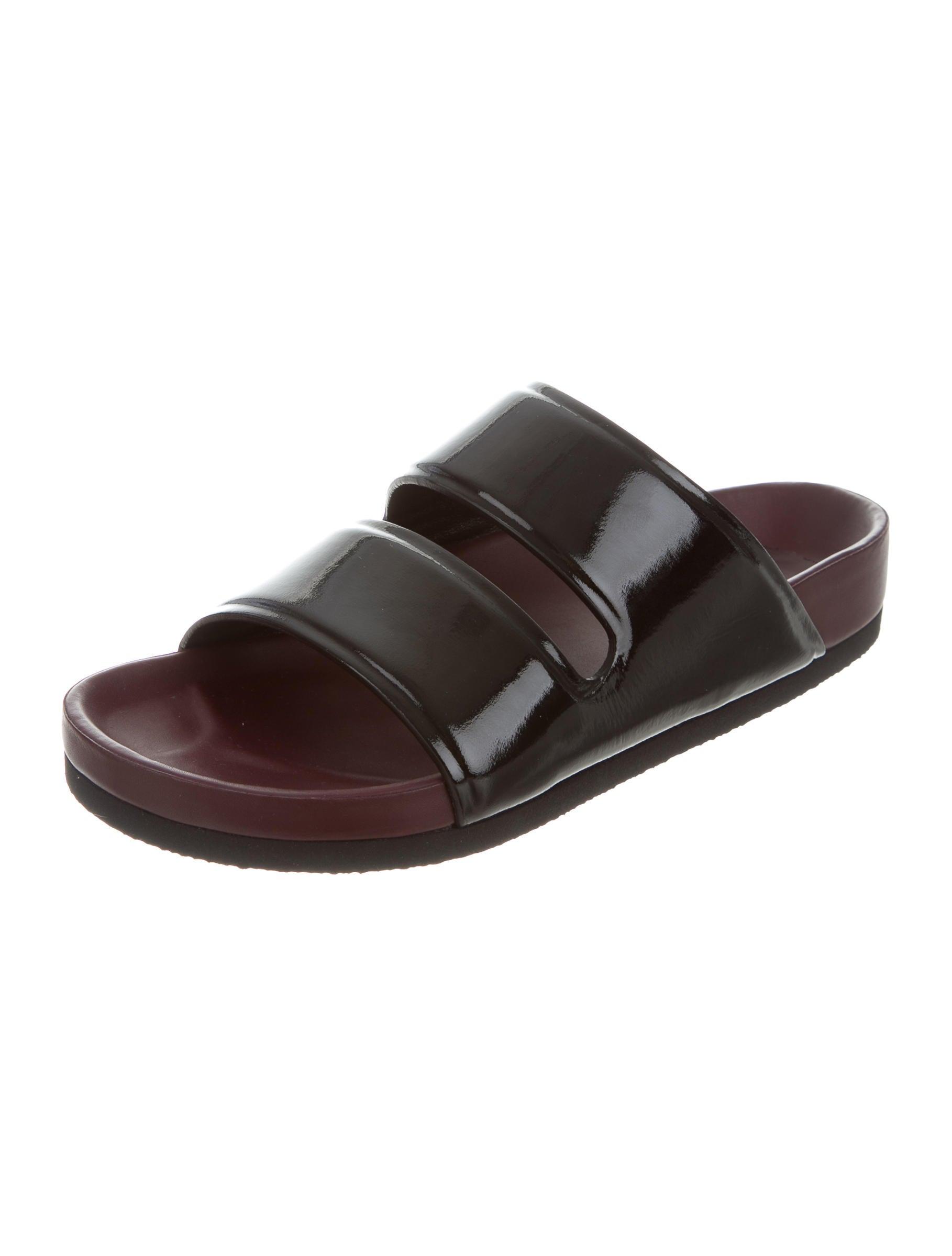 Céline Patent Leather Sandal