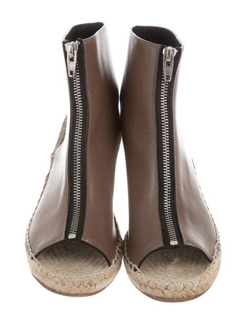 2f299e5e2a6 Celine Céline Zip-Up Espadrille Wedges - Shoes - CEL44963 | The RealReal