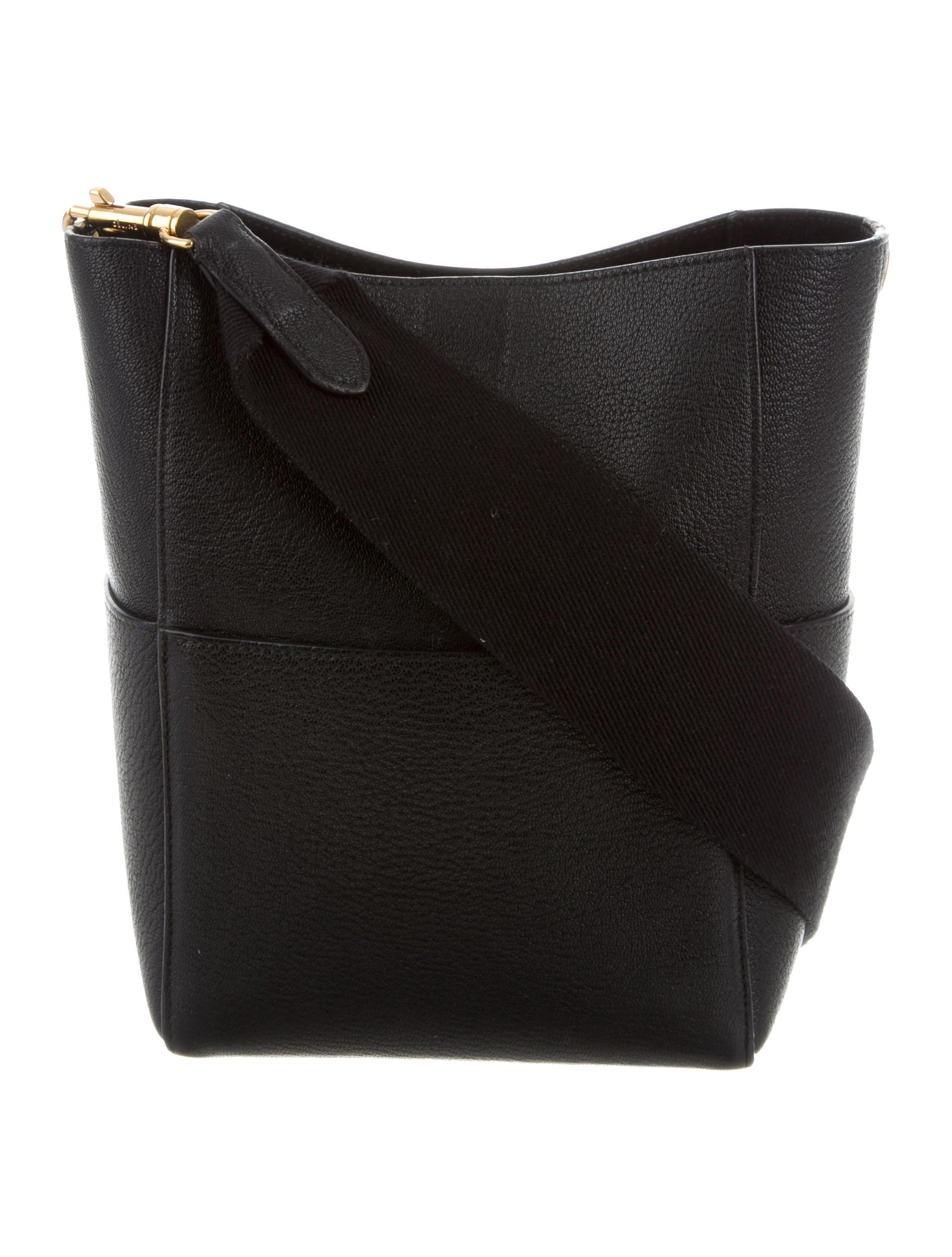 d8b9bd4f0f74 Celine Sangle Shoulder Bag Black | Stanford Center for Opportunity ...